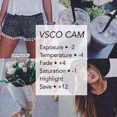 instagram filter vsco