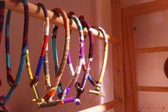 Hermes - Petit H silk necklaces
