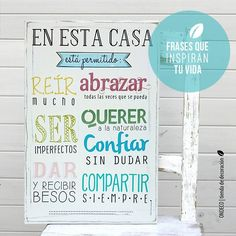 ONDECÓ Cuadros vintage 3 Vintage Frases, Open House Parties, Gallery Wall Frames, Calligraphy Words, Diy Frame, Illustrations And Posters, Paper Cutting, Peace And Love, Ideas Para