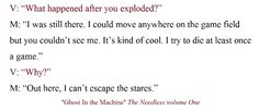 Verity asks Mike about dying in game. His response tilts her world. You can read the rest @Amazon