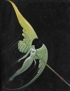 Original cover for Angel Claw by Moebius