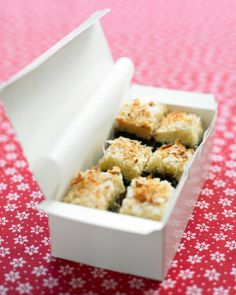 Black-Bottom Coconut Bars; a rich chocolate brownie and a chewy coconut macaroon