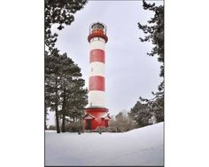 Postcard Lighthouse of Nida Kristina Kuodiene