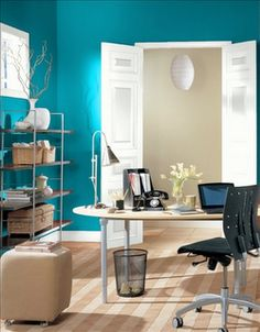 interior paint ideas and inspiration | office color schemes and
