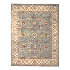"Oushak Collection Oriental Rug, 9'3"" x 11'10"" 