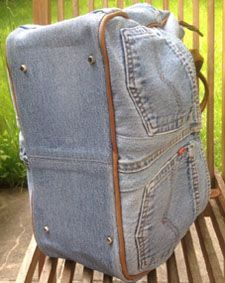 moderne handtasche aus alten jeans n hen taschen selber. Black Bedroom Furniture Sets. Home Design Ideas