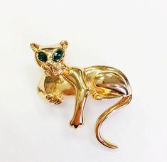 Vintage Gold Panther D'Orlan Brosche  von wildthingvintage auf Etsy