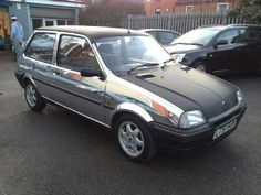 Chrome and carbon wrapped Rover Metro courtesy of the team at Fifth Gear!