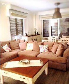 Salon, Country, Kahve köşesi, Sehpa Couch, Modern, Furniture, Home Decor, Hama, Settee, Trendy Tree, Decoration Home, Room Decor