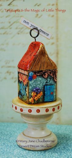 Tinytopia & the Magic of Little Things....my new online class this summer on Artful Gathering! atozinnia.org