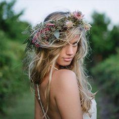 maggie rawlins // blonde windblown hair goals