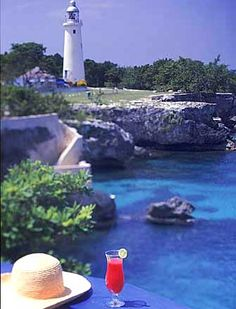 A lighthouse at the Jamaica hotel