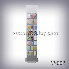 victor Rotating Mosaic Tiles Rack can be customized as request.The main function of Mosaic tiles display rack allows the customer to spin through more of you products to find that perfect choice sample to meet their needs. Stone Mosaic Tile, Mosaic Tiles, Display Boxes, Display Case, Sample Boards, Buy Tile, Wood Rack, Xiamen, Quartz Stone