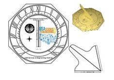 NASS Sundial Cut Out Design: NASS Sundial Cut Out Design Sundial, Cut Out Design