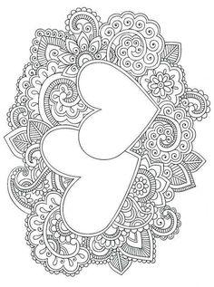 Mandala Heart Coloring Pages. 20 Mandala Heart Coloring Pages. Coloring Pages Color Coloringicture Easy Owlages Unique Heart Coloring Pages, Mandala Coloring Pages, Printable Coloring Pages, Colouring Pages, Adult Coloring Pages, Coloring Sheets, Coloring Books, Wedding Coloring Pages, Doodle Coloring
