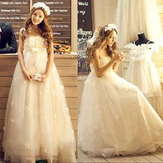 ウェディングドレス 二次会 ロングドレス ウエディングドレスパーティードレス 腰高めビスチェドレス 花嫁 HS58