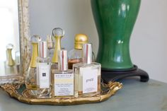 Atlanta home tour of Caroline Inge - perfumes // by Tin Can Photography for The Everygirl