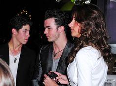 Nick Jonas, Kevin Jonas and Dani Jonas