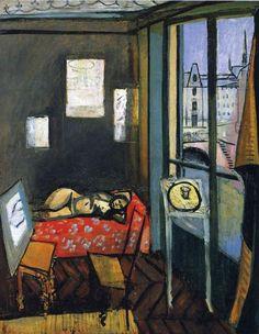 Studio, Quay of Saint-Michel (1916), de Matisse