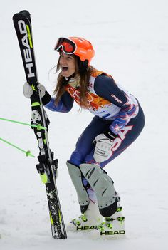 Julia Mancuso #sochi2014 #winterolympics #olympics