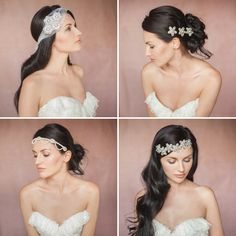 2014 british bridal headpiece | Britten 2014 Liberte Collection vintage inspired bridal wedding ...