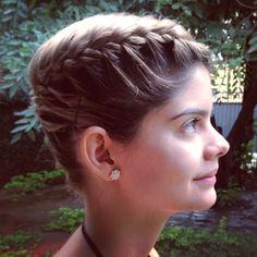 braid for short hair