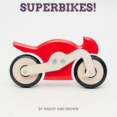 Ta.Ta. Unconventional Design For Kids: SUPERBIKES!