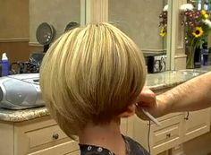 17.Stacked Bob Haircut