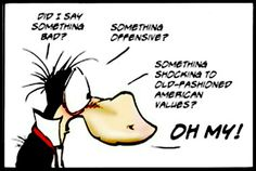 Opus, Bloom County by Berkeley Breathed Wtf Funny, Funny Stuff, Hilarious, Bill The Cat, Berkeley Breathed, American Comics, Cool Cartoons, I Fall In Love
