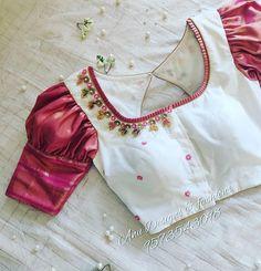 New Saree Blouse Designs, Best Blouse Designs, Simple Blouse Designs, Stylish Blouse Design, Bridal Blouse Designs, Blouse Designs Embroidery, Neck Designs For Blouse, Designer Blouse Patterns, Sari