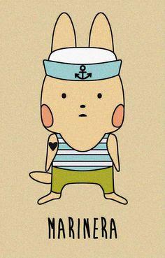 Conejita marinera.