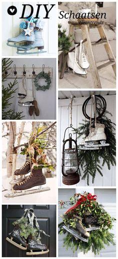 Schaats-decoratie