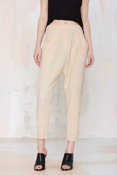 Cameo Collective Chicago Pleated Trouser | Shop Clothes at Nasty Gal!