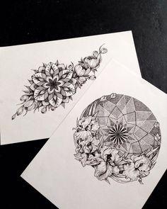 Все, кому интересно узнать больше об эскизах для тату, о том как создать интересную композицию и начать зарабатывать на этом, читайте предыдущий пост!😃