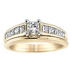Bridal Wedding rings- Dunkin's Diamonds-