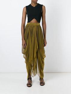 Romeo Gigli Vintage Draped Skirt - A.n.g.e.l.o Vintage - Farfetch.com - Romeo Gigli Vintage draped skirt