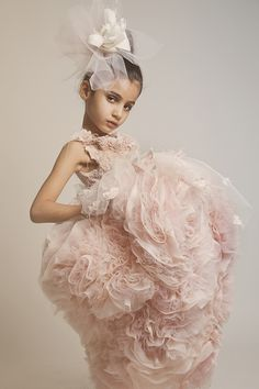 ALALOSHA: VOGUE ENFANTS: HAUTE COUTURE for Little Misses by Kirkor Jabotian
