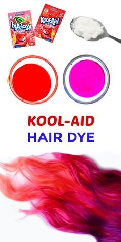 Hair Dye For Kids, Kids Hair Color, Dying Your Hair, Hair Dye Colors, Homemade Hair Dye, Diy Hair Dye, Hair Dye Tips, Dyed Tips, Makeup Products