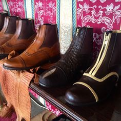 Custom leather paddock boots by Der Dau