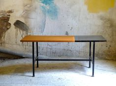 Table low vintage by CollectionIt on Etsy