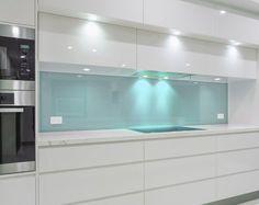 Spritzschutz Glas küchenrückwand aus glas der moderne fliesenspiegel sieht so aus