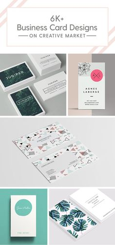Love these business card designs? There are plenty more where that came from! Check them out today.