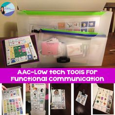 AAC CORE boards and visuals to help with functional communication. Saves so much time and prepping!