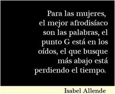 Isabel Allende. Cita célebre