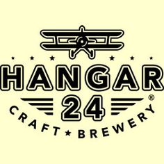 Hangar 24 Craft Brewery Logo | Badge
