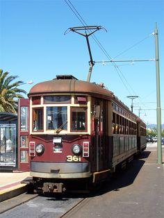 """""""Ancient tram at Glenelg, Melbourne"""