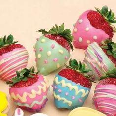 Easter strawberries