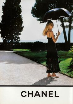 Claudia Schiffer for Chanel, 1994