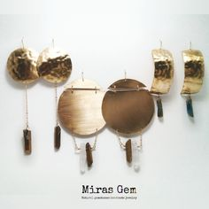 Miras Gem Brass And Quartz Series