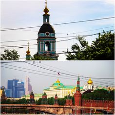 Historic center. morning in Moscow, Russia